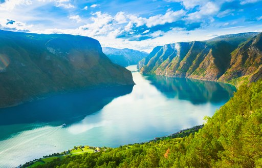 Another panorama of one of the fjords in Norway.