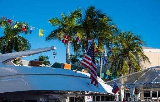 Yacht on display at FLIBS 2019