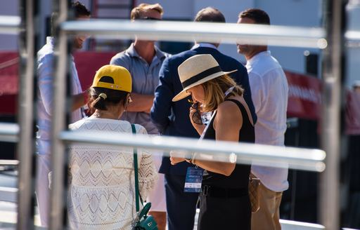 People at the MYS 2021