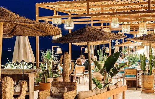Atzaro beach club ibiza