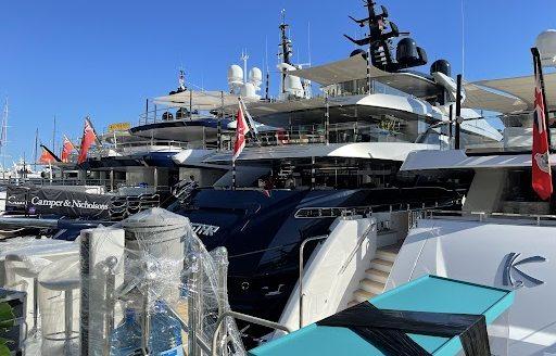 Live photos: Final preparations for Monaco Yacht Show 2021  photo 2