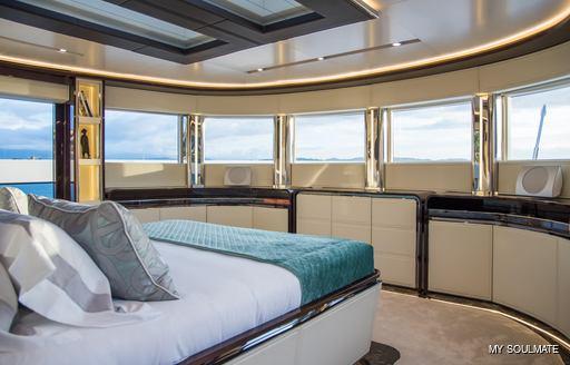 Owner's suite onboard MY Soulmate