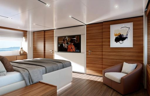 penelope superyacht owner's suite