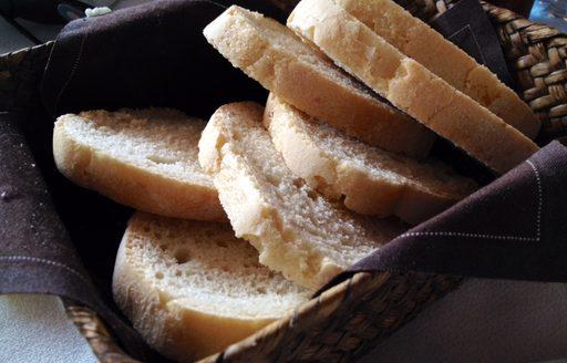 Bread at Ca Na Ribes, Santa Eulalia - best Ibiza restaurant to visit