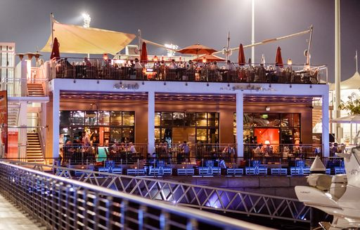 Yacht party in Abu Dhabi