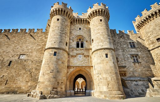 The Knights Grand Master Palace, Rhodes in Greece