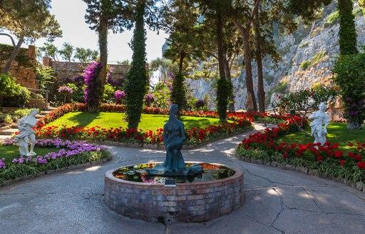 Statue in gardens of Augustus