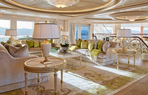 111m superyacht TIS: 33rd largest yacht in the world now for charter photo 6