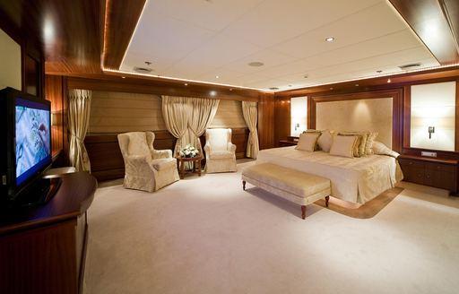 90m superyacht 'Lauren L' gets Greek yacht charter license photo 10