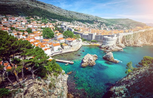 View over Dubrovnik Old Tow, Croatia