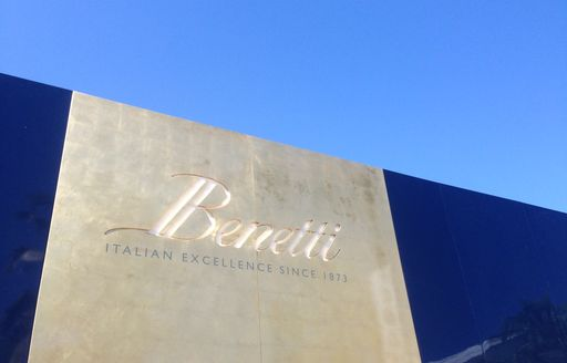 Benetti were exhibiting at the 2014 FLIBS
