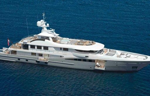 Amels luxury yacht Papa