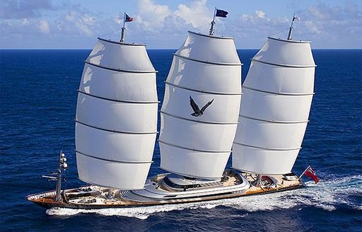sailing yacht ready for charter