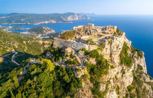 Corfu Angelokastro Castle