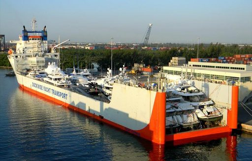 Superyachts loaded for FLIBS