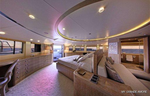 VIP suite onboard MY Grande Amore
