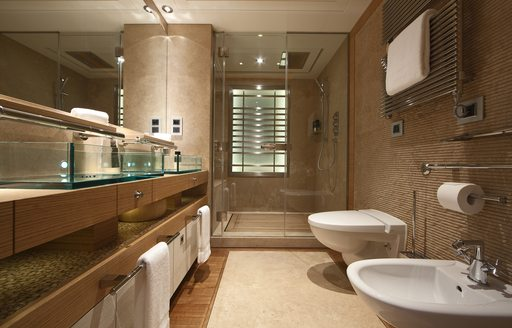 vip stateroom en suite on luxury yacht naia
