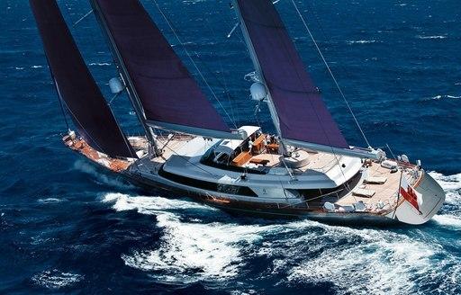 sailing yacht Baracuda Valletta cruising on charter in the Mediterranean