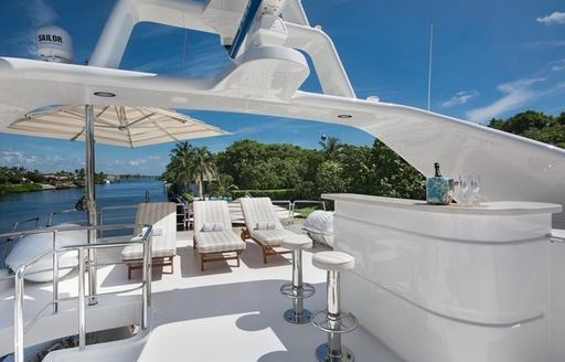 Benetti superyacht SIETE to charter in the Bahamas over the holidays photo 4