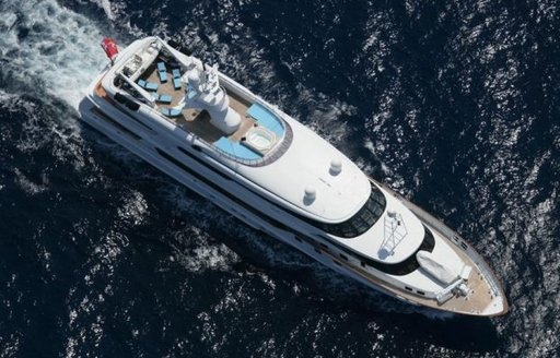 superyacht the Wellesley appears at the Antigua Charter Yacht Show 2016