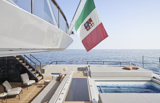Brand new: impressive 61.5m (201.7ft) superyacht CLOUD 9 joins charter fleet in the Mediterranean photo 5
