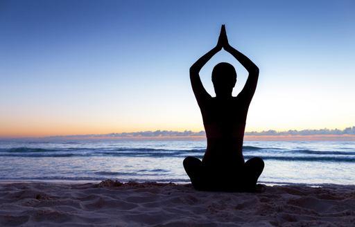 charter guests enjoys yoga