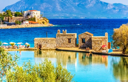 Stunning view over Datca Harbour in Turkey