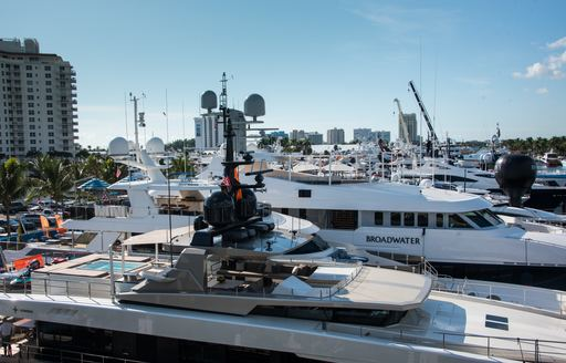 FLIBS 2019 superyachts at the show