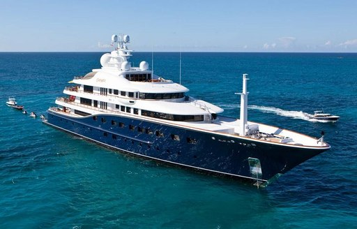 motor yacht AQUILA on a luxury charter vacation