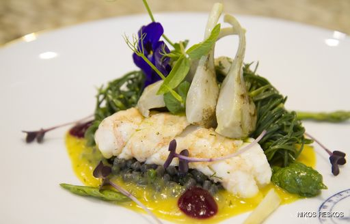 The winning dish prepared by the ANCALLIA chef