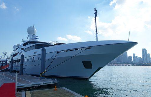 superyacht in miami