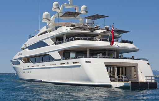 Superyacht 'Silver Angel' in Cannes