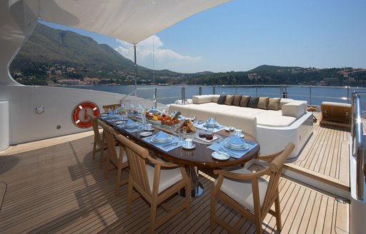 Benetti superyacht 'Andreas L' offers special rates on Mediterranean yacht charters photo 1