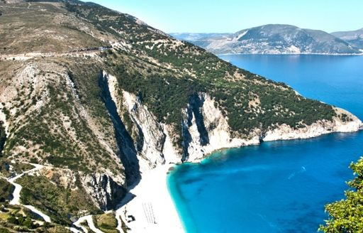 Greek Captains will know about the best hidden beaches