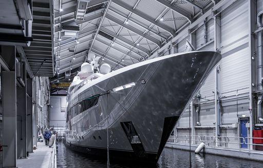 Somnium superyacht launch