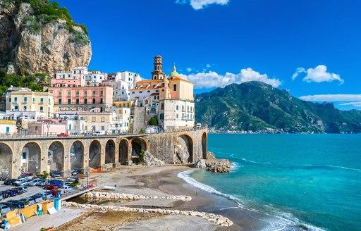 Pretty town on the Amalfi Coast