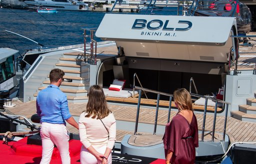MY Bold at the Monaco Yacht Show 2021