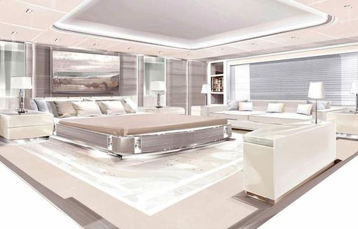 Brand new 95m charter yacht O'PARI on track for 2020 delivery  photo 9