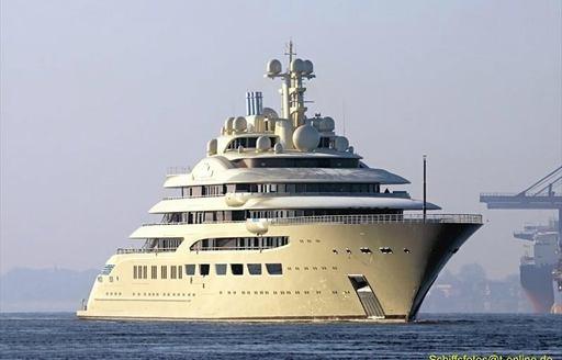 luxury yacht DILBAR released from Lurssen shipyard