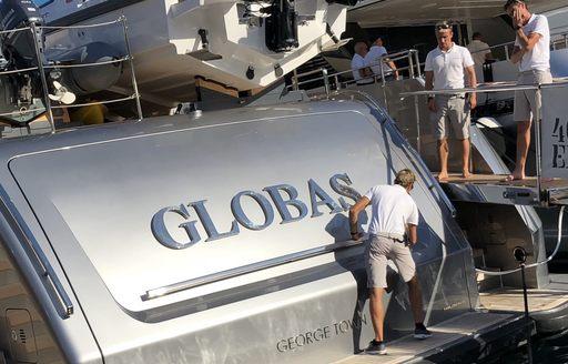 Live photos: Final preparations for the Monaco Yacht Show 2018 photo 3