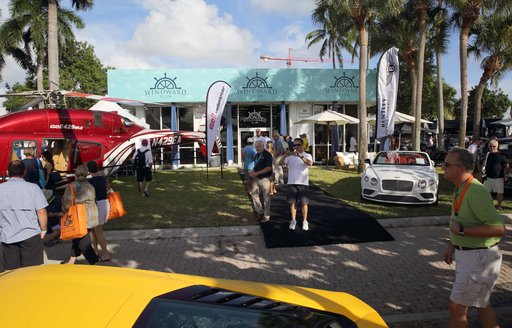 the Windward VIP Club Experience at Fort Lauderdale International Boat Show