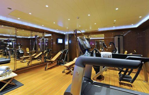 TV's gym