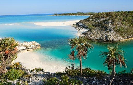 . Shroud Cay is part of the Exumas