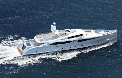 Superyacht PHILMI cruising on charter in the Mediterranean