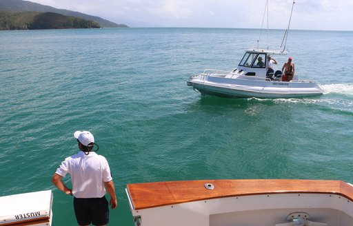 game fishing with the on-board expert when on charter with superyacht BAHAMA