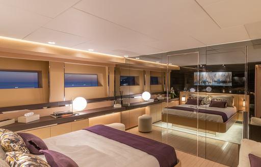 VIP cabin onboard MY LEL