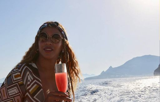 Beyonce shares the magic of chartering a superyacht with her millions of followers photo 15
