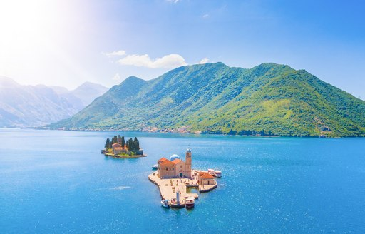 Both Sveti Dorde and Our Lady of the Rocks in Montenegro