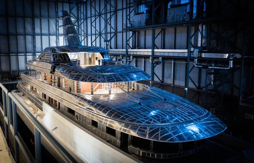 Superyacht Project 816 in Feadship yard