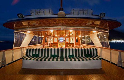 big eagle yacht aft deck